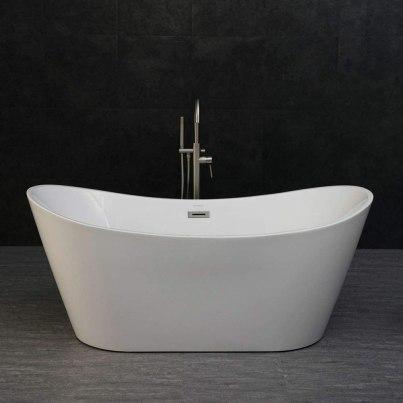 WOODBRIDGE BTA-1515 67 Acrylic Freestanding Bathtub