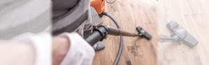Hardwood floor vacuums