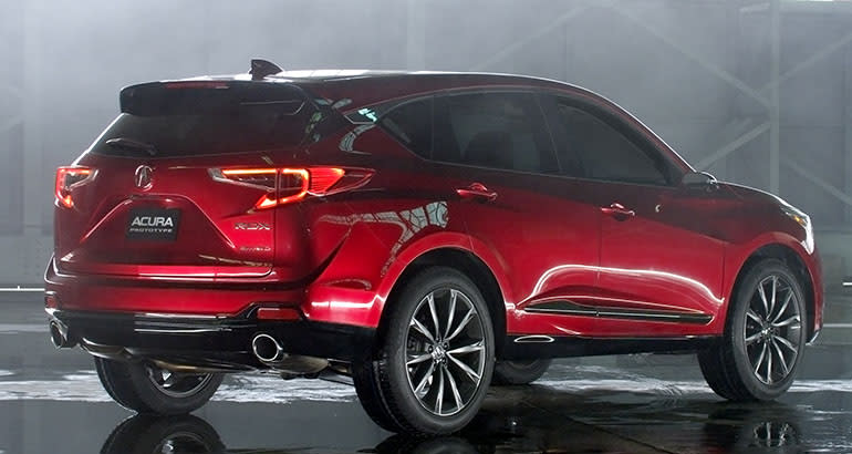 2019 Acura Rdx Release Date Changes News Price