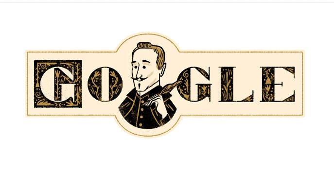 Google Doodle Celebrate Lope de Vega's 455th Birthday