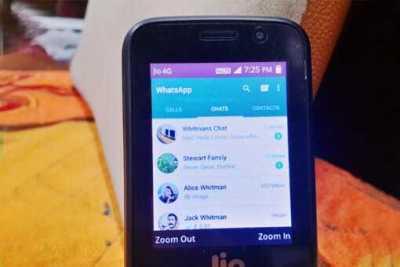 Whatsapp for jio phone, Download whatsapp for jio phone, whats app in jio phone, can we use whatsapp on jio phone