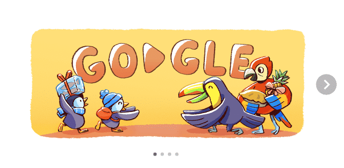 "Google Doodle Celebrates ""December global festivities 2017"" (Day 2)"