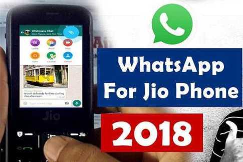 whatsapp download in jio phone