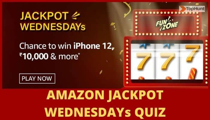 Amazon Jackpot Wednesdays Quiz Answers Win iPhone 12
