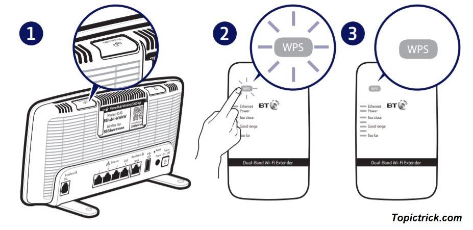 BT wifi Extender setup