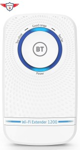 BT WIFI Extender 11ac Dual Band Wi Fi Extender 1200