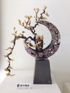 朱炳仁熔銅藝術精品《月之華-2》