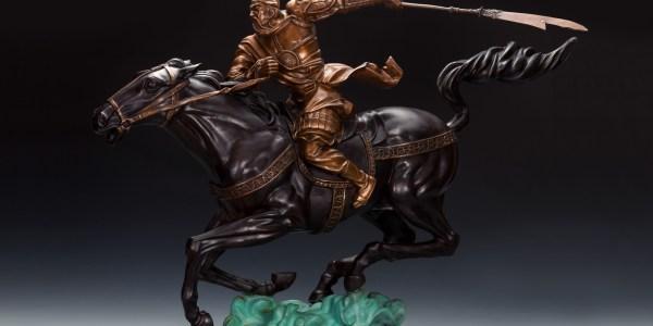國際銅雕大師朱炳仁的《關公》系列