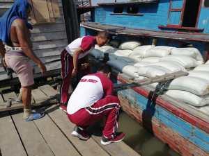 IMG 20200227 WA0080 300x225 - Polres Tanjung Balai bersama Forkopimda, Gotong Royong Membersihkan Sungai Tanjung Balai