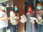 BWS Sumatera V dan Korem 032 Wirabraja Berbagi Sembako Bantu Warga Padang