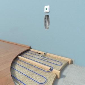 устройство кабельного теплого пола на деревянный пол