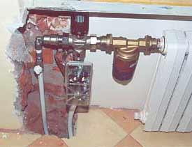 теплый пол от радиатора с теплообменником в квартире