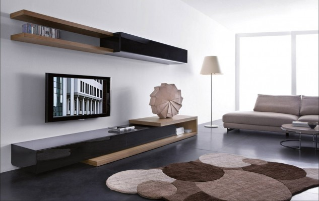 Pleasing Tv Wall Unit Designs For Living Room Interior Decorating Ideas Design Units