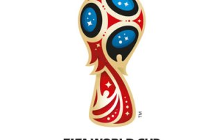 FIFA World Cup Logo with Muslim players
