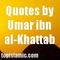 quotes by umar, topislamic.com