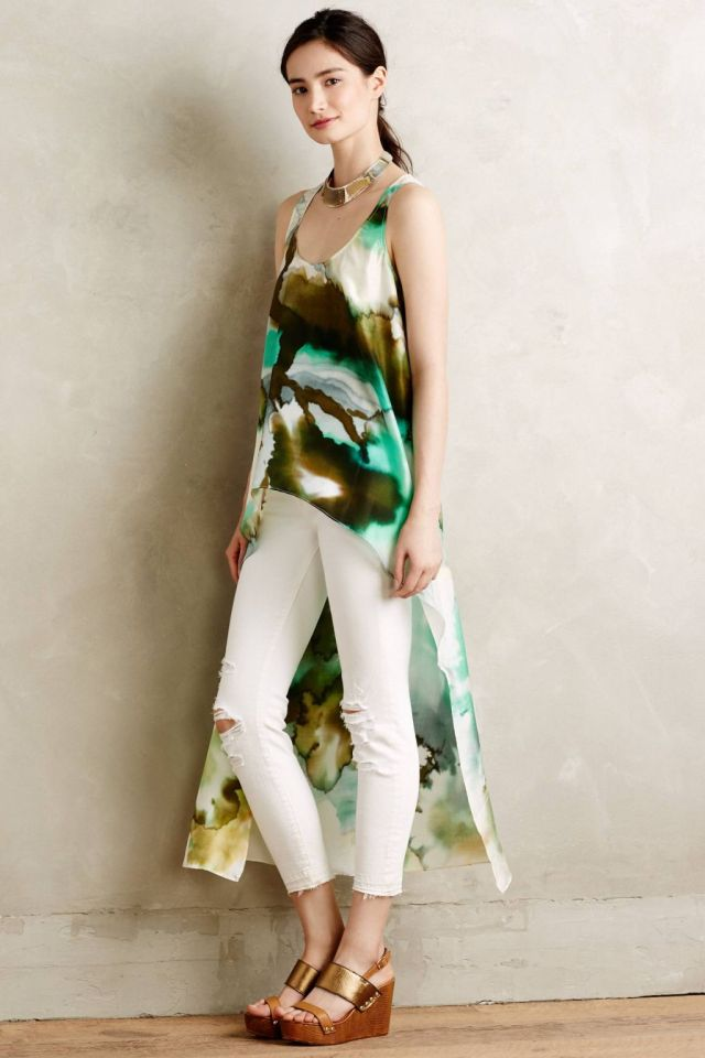 Arbor Silk Tunic by Tryb