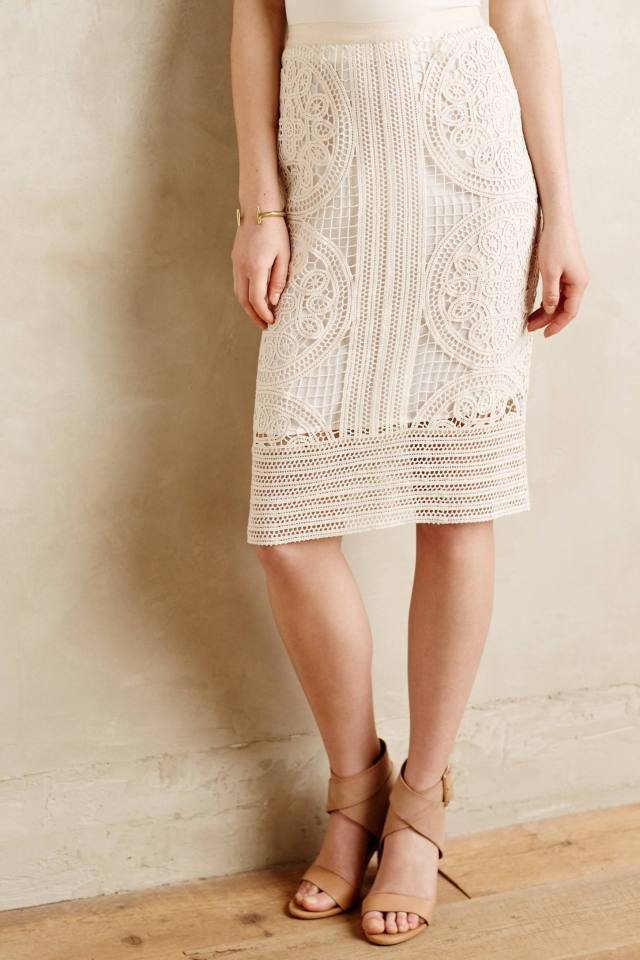Arc Lace Skirt by Greylin