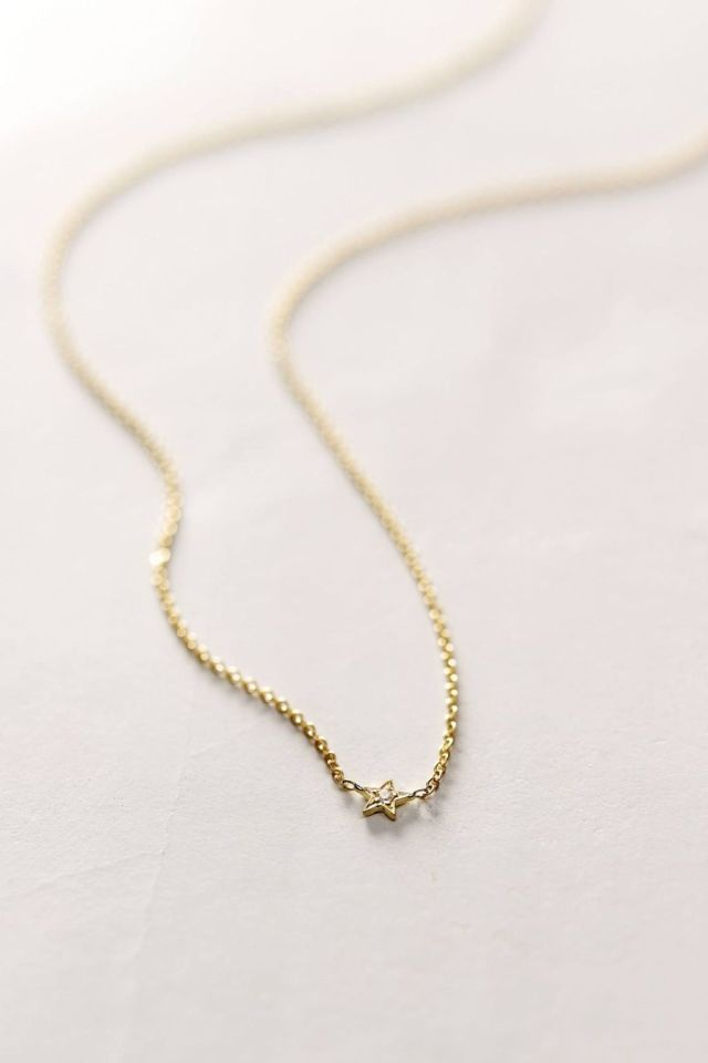 Diamond Estelita Necklace by Charlie and Marcelle