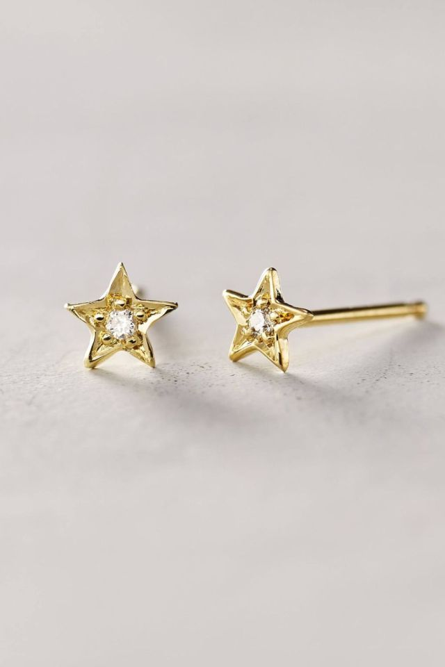 Diamond Estelita Studs by Charlie and Marcelle