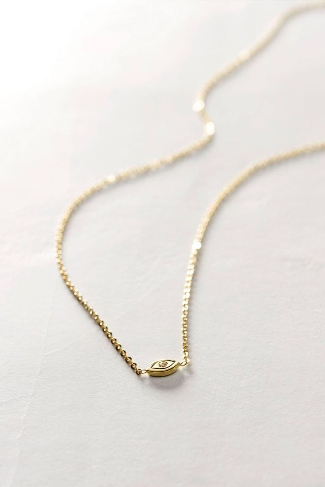 Diamond Gaze Necklace by Charlie and Marcelle