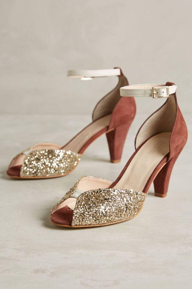 Juliette Glitter Heels by Emma Go