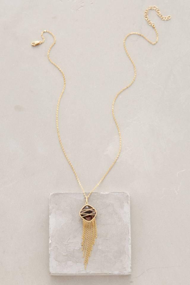 Erytheia Fringed Necklace