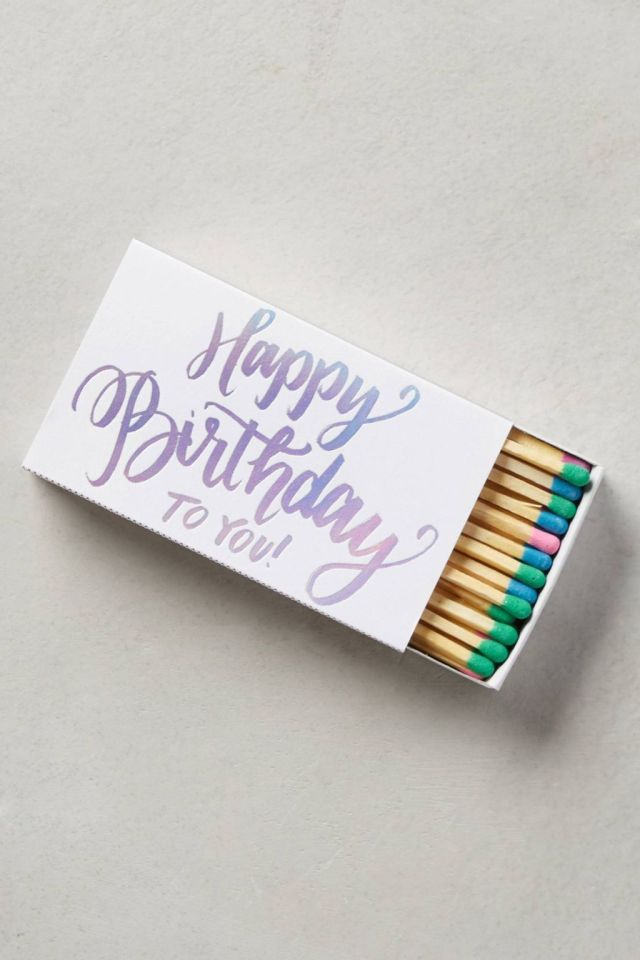 Happy Birthday Matches