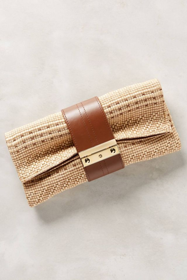 Nitecap Straw Clutch by Joanna Maxham