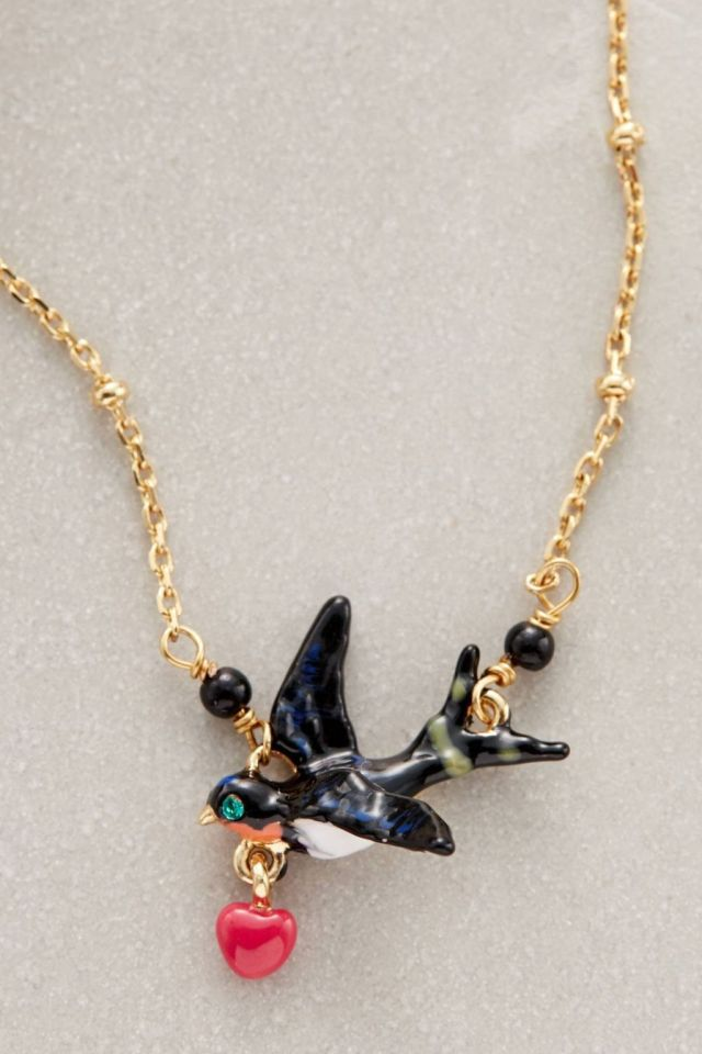 Lovebirds Necklace by Les Nereides