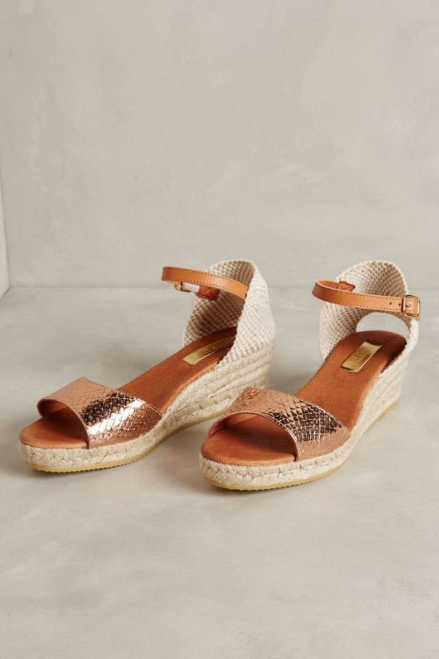 Skipper Rose Mini Wedges by Maypol