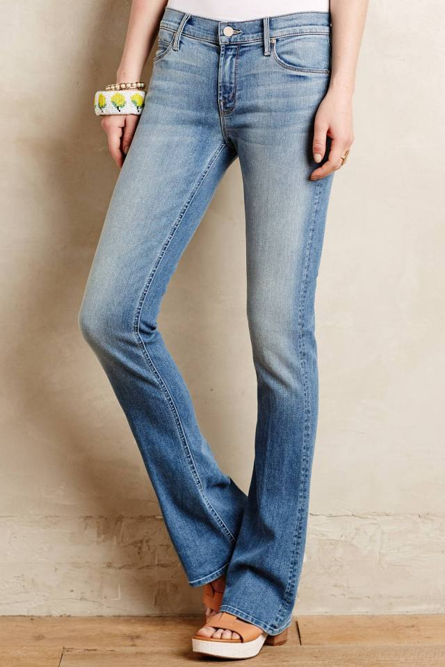 Runaway Skinny Flare Jeans by Mother
