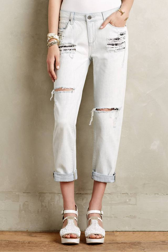 Porter Distressed Jeans by Paige