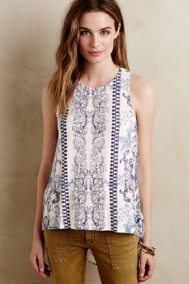 Paisley Wenda Tank by Language