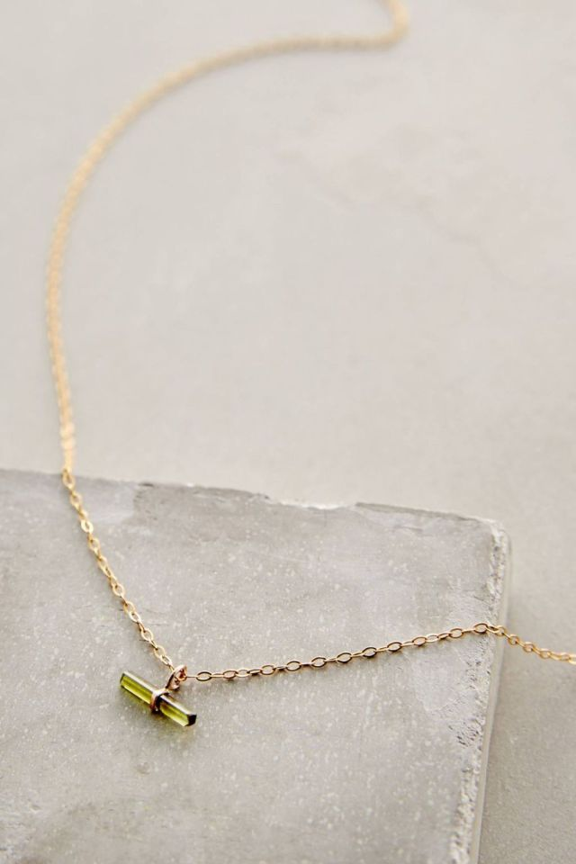 Palillo Pendant Necklace by Jene DeSpain