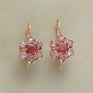 Anik Kastan Precious Pink Earrings