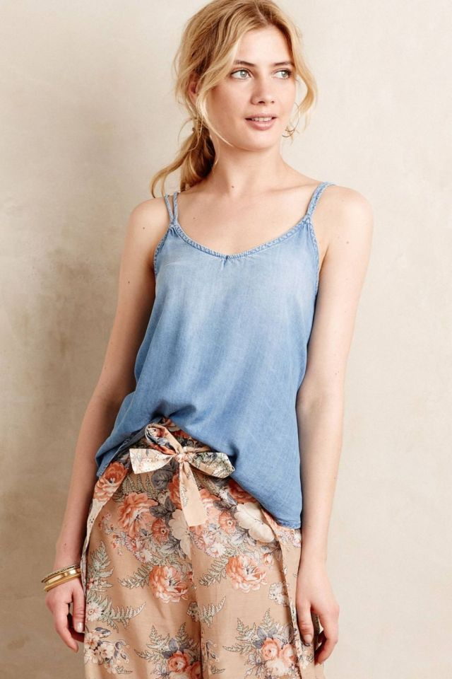 Scooped Chambray Cami by Cloth & Stone