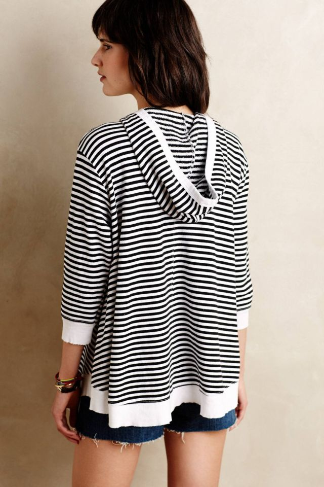 Striped Terry Pullover by Parc & Pearl