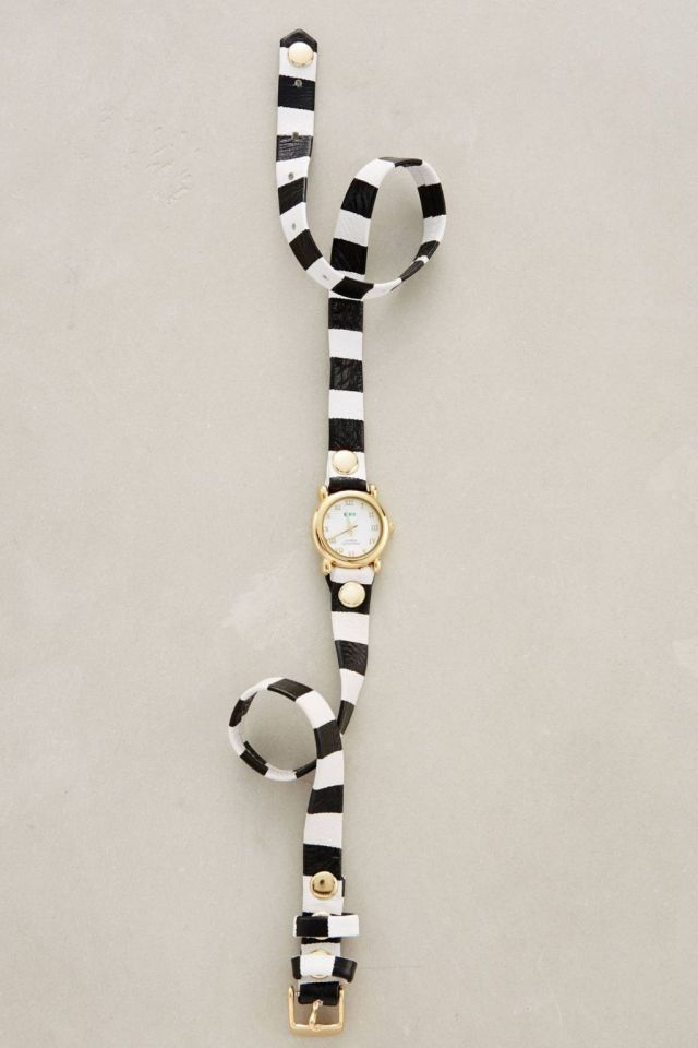 Striped Wrap Watch by La Mer