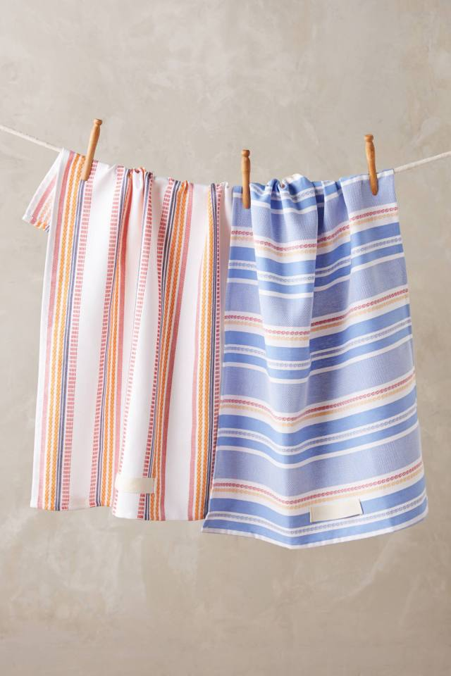Summer Stripe Dishtowels