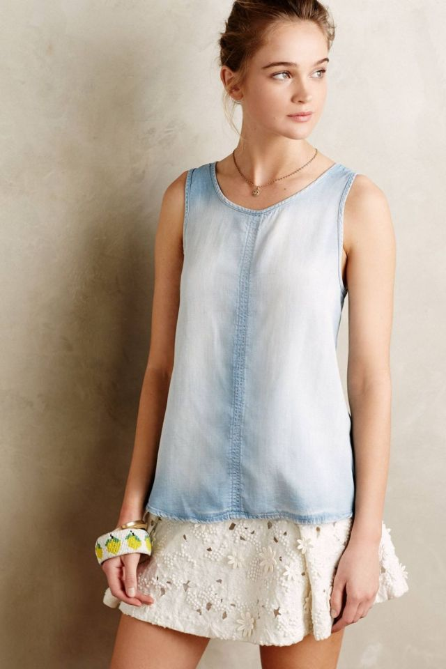 Sun-Drenched Chambray Shirt by Cloth & Stone