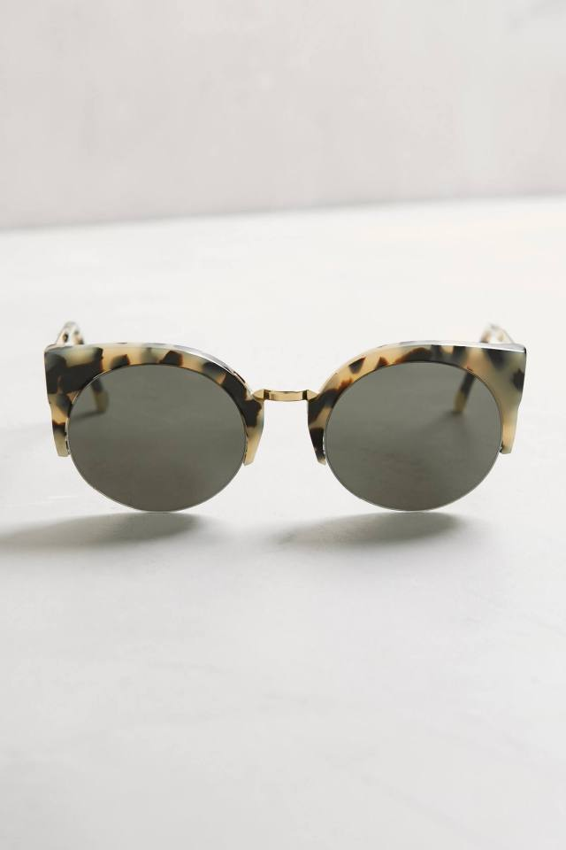 Lucia Tort Sunglasses by Super by Retrosuperfuture