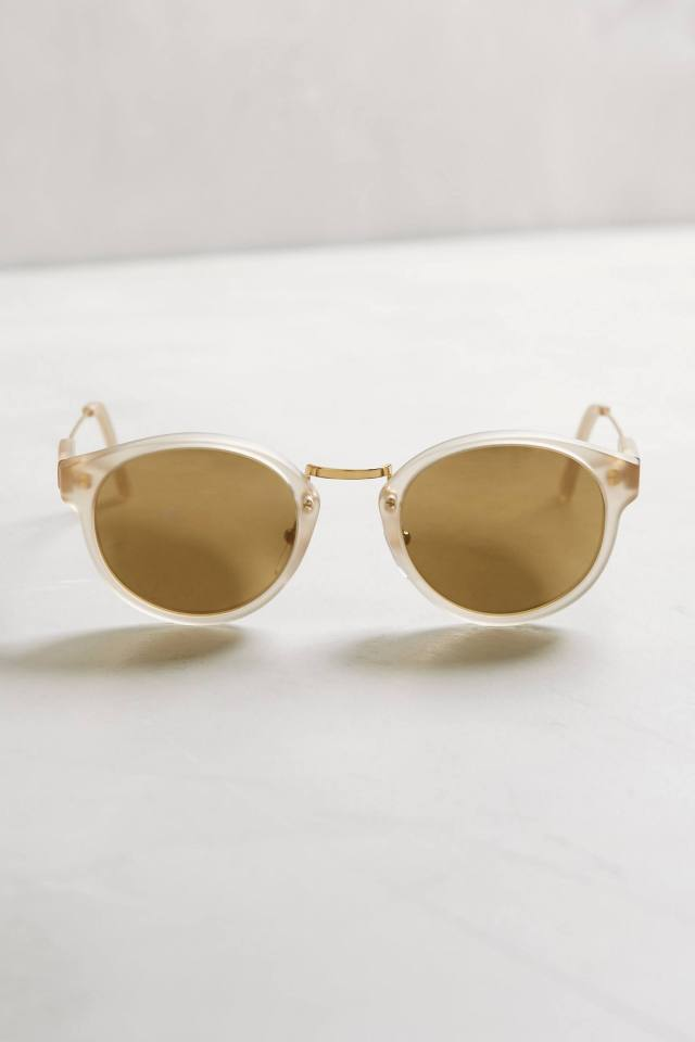 Panama Clear Sunglasses by Super by Retrosuperfuture