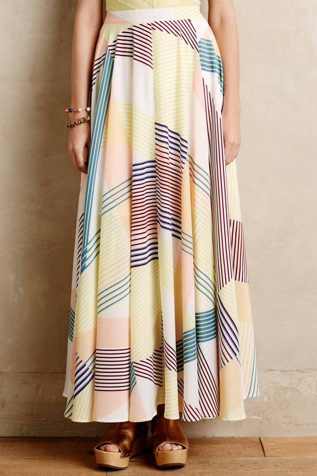 Synergies Maxi Skirt by Harlyn