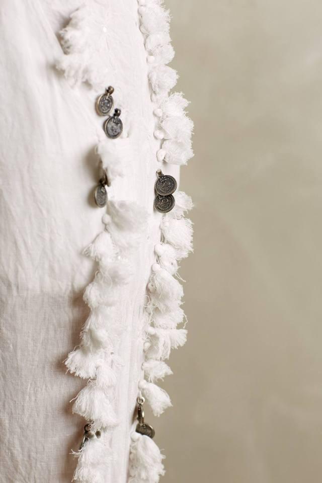 Tasseled Linen Crops by Mes Demoiselles