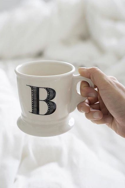 To sip on coffee in bed