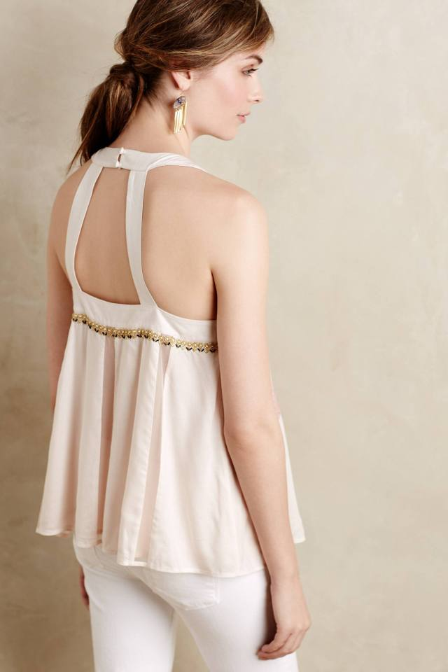 Beaded Pia Tank by Floreat