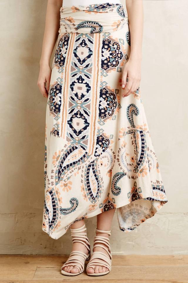Buta Maxi Skirt by Maeve