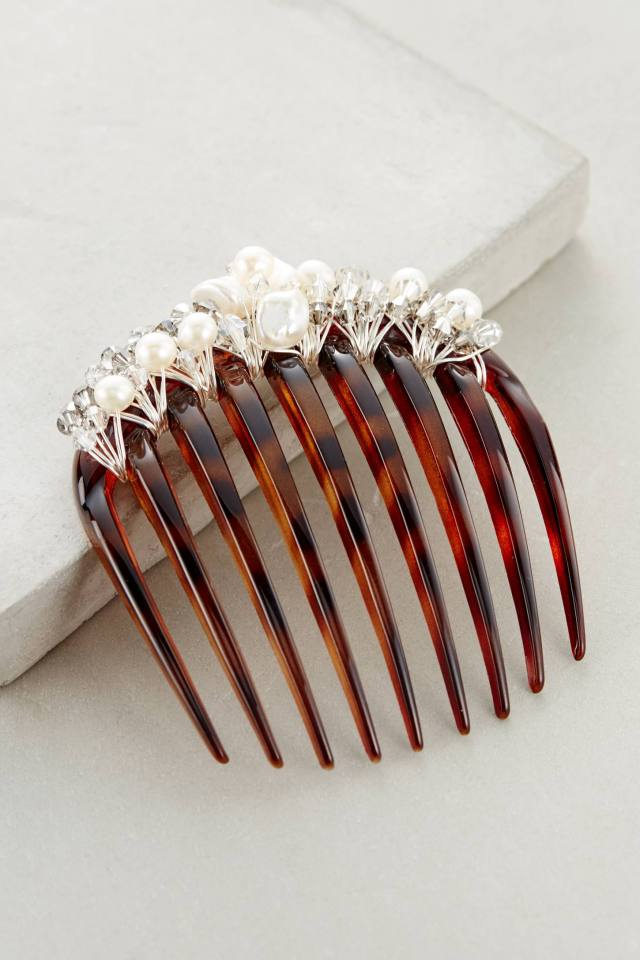 Coronet Hair Comb by Colette Malouf