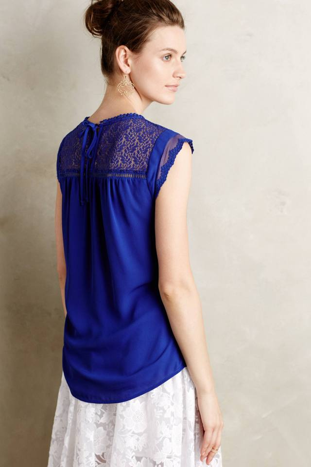 Laced Tie-Back Top by Meadow Rue