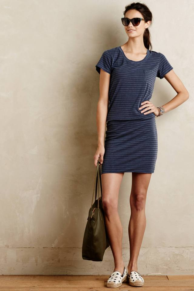 Lakeland T-Shirt Dress by Sundry